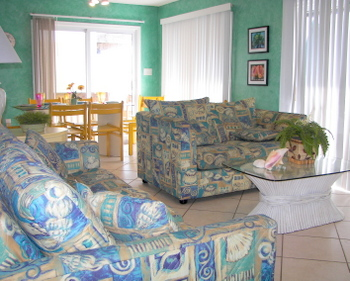 Interior of Ocean View House, Beach Houses for Rent in Myrtle Beach, SC